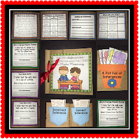 This hands on teaching resource for making inferences is fun and engaging. Students can complete a page at a time or all of it in one setting.