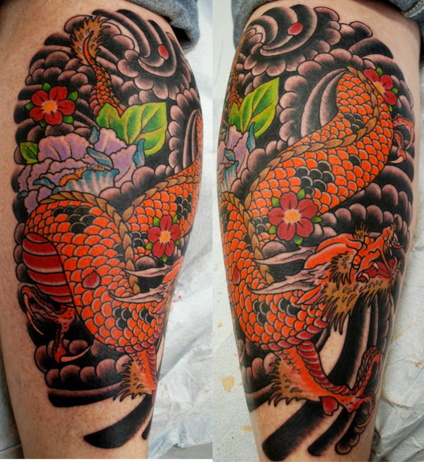 Dragon Tattoos: Tattoos For Men 2011: Japanese Dragon Tattoos