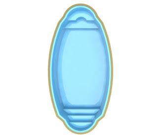 Preço piscina de fibra Tropical TP785