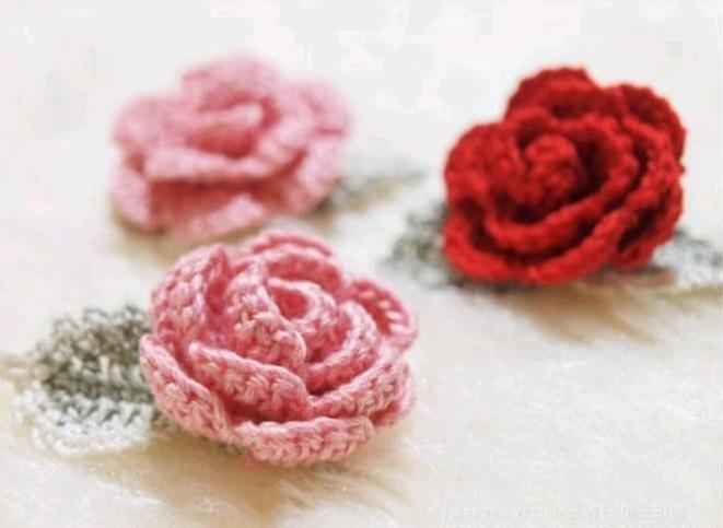 La Signora Delle Idee Rose Alluncinetto Con Foglia Tutorial