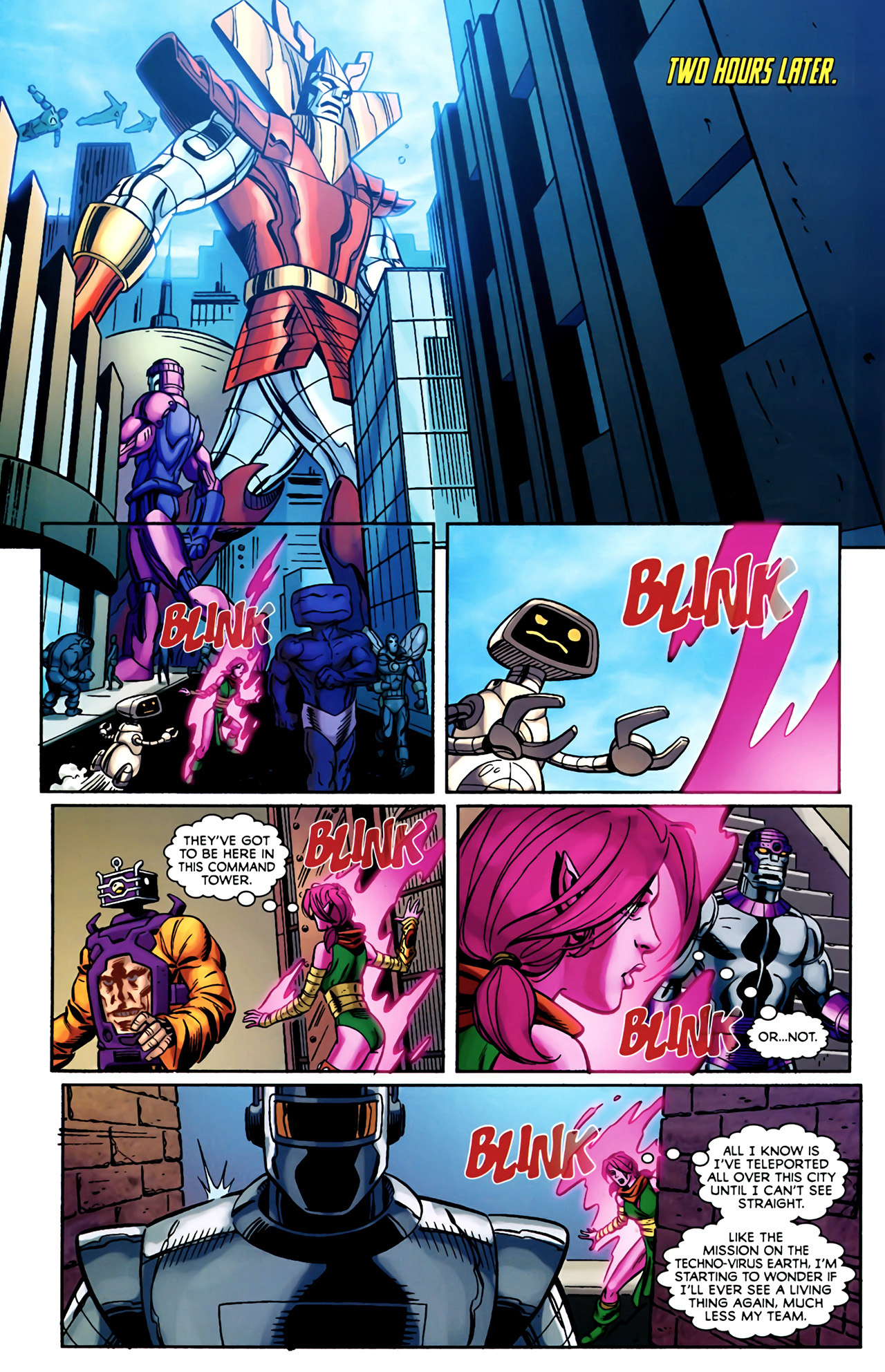 Read online Exiles (2009) comic -  Issue #4 - 21