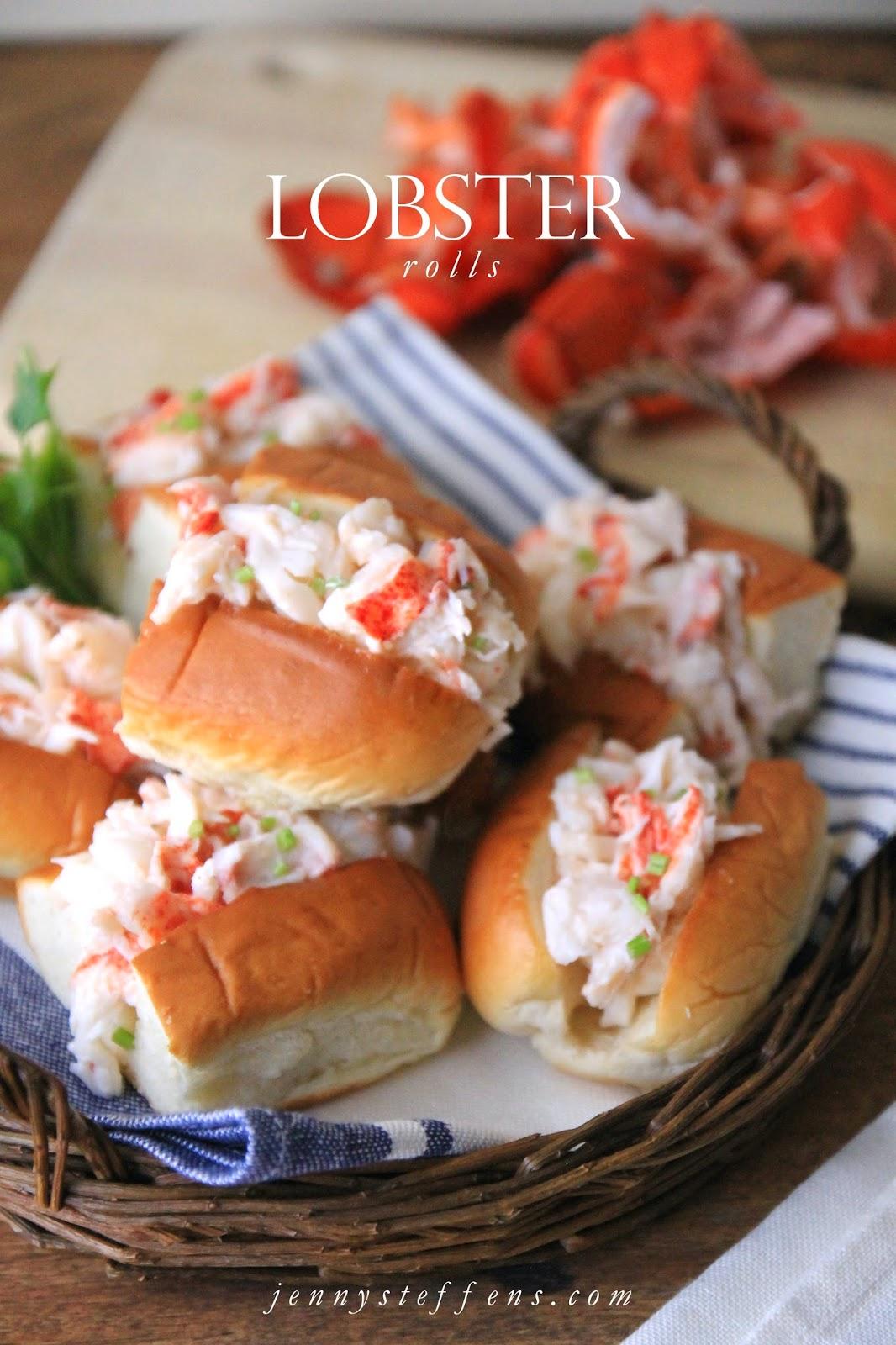 Jenny Steffens Hobick Mini Lobster Rolls For The