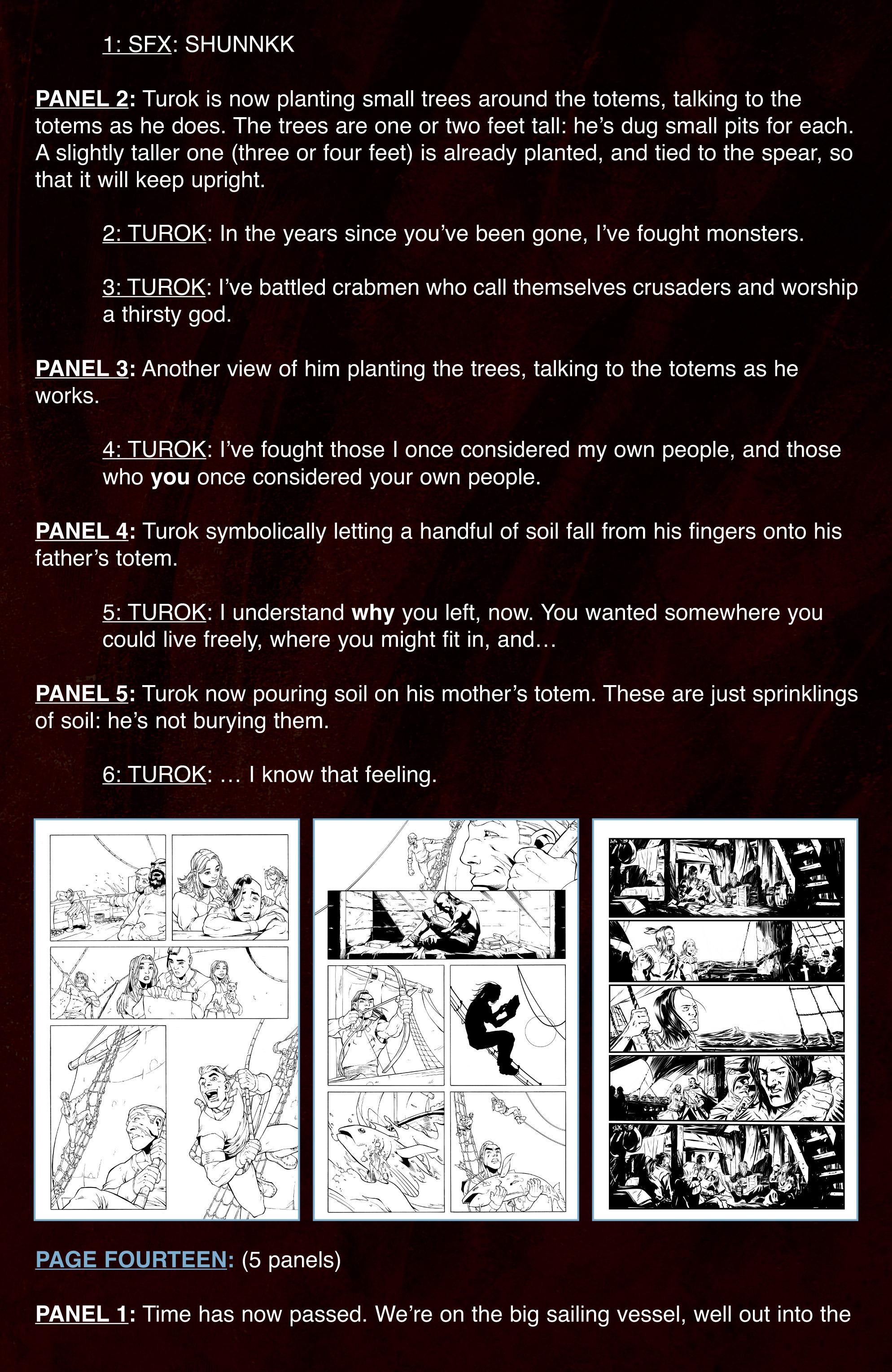 Read online Turok: Dinosaur Hunter (2014) comic -  Issue # _TPB 3 - 104