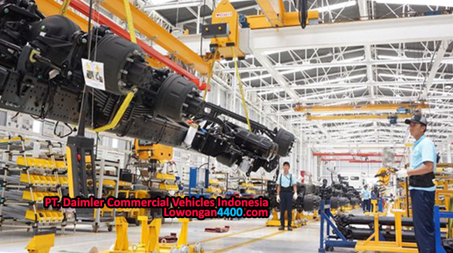 Lowongan Kerja PT. Daimler Commercial Vehicles Indonesia (Mercedes-Benz Indonesia) April 2018