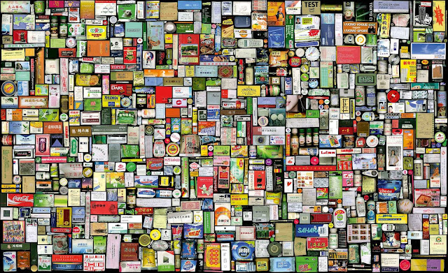 My Things-Book-Keeping of 04-05 B, 2006. ©Hong Hao