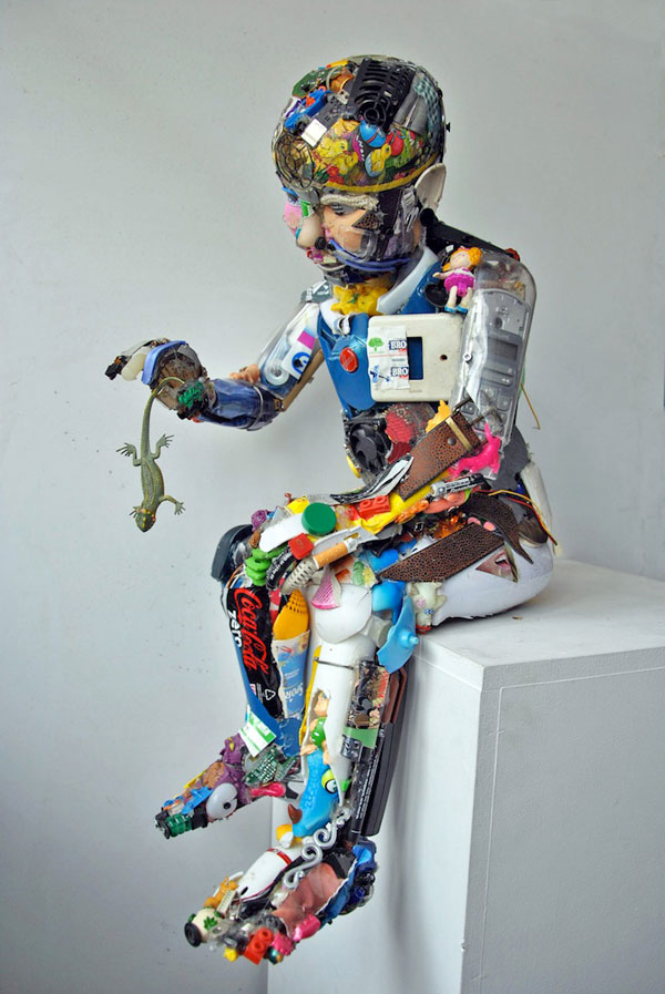 How to Recycle: Amazing Junk Art Sculptures Made from Everyday Waste