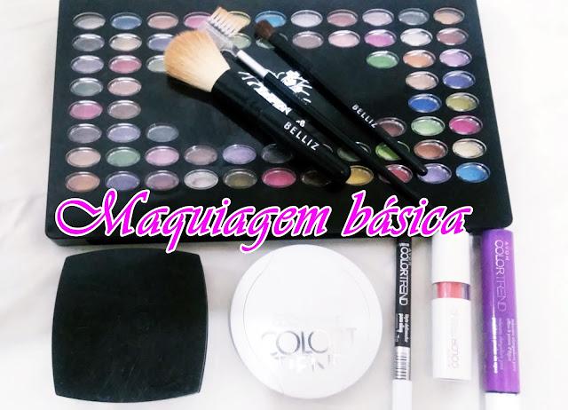 Achegue-se! Maquiagem básica com 6 produtos acessíveis