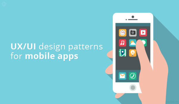 UI/UX design pattern for mobile app development