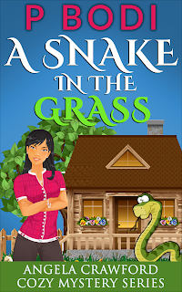 A Snake In The Grass Angela Crawford Cozy Mystery Series Book 3