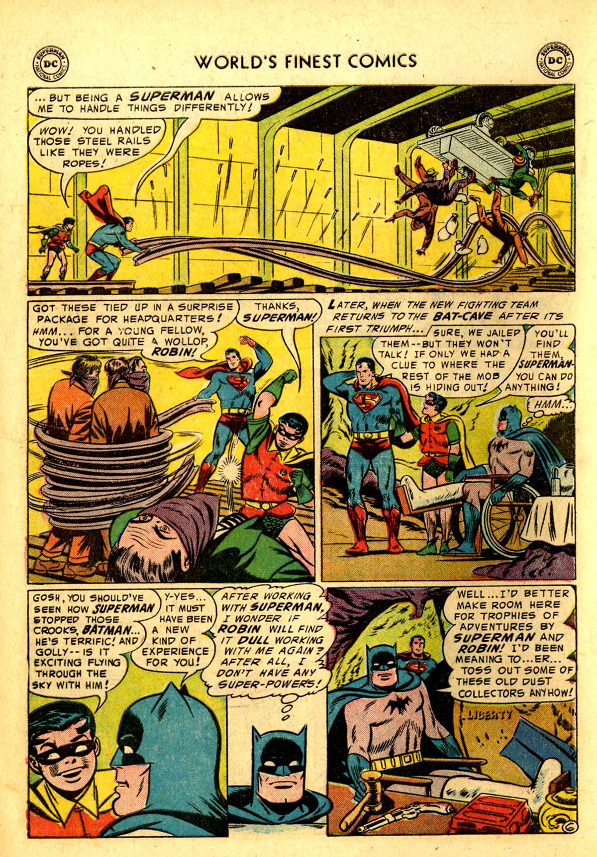 Read online World's Finest Comics comic -  Issue #75 - 8