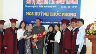 Vĩnh biệt TS Huỳnh Thúc Phong - Một trái tim cháy bỏng với bóng chuyền đã tắt!