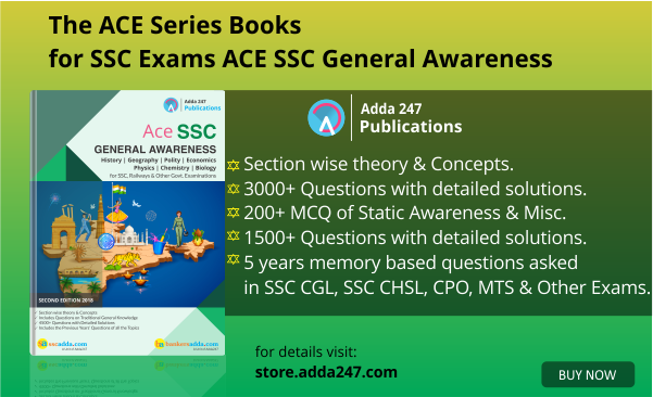 The ACE Series Books for SSC Exams   ACE SSC GENERAL AWARENESS