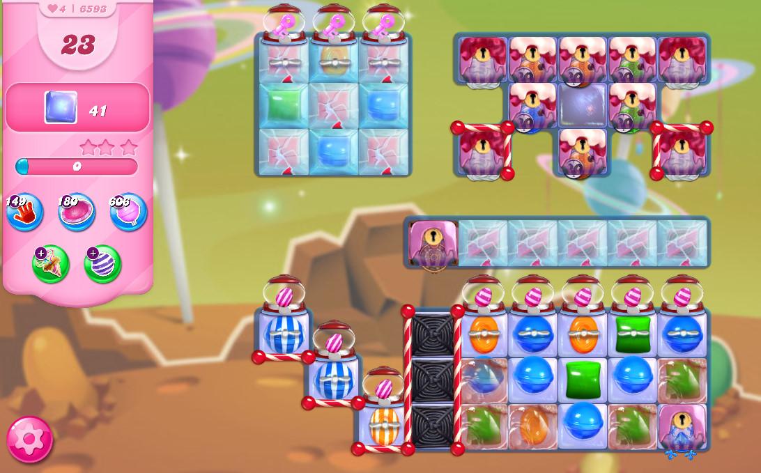 Candy Crush Saga level 6593