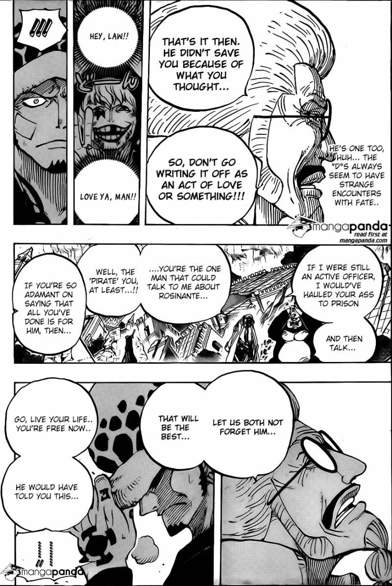 One Piece Ch 798: Heart