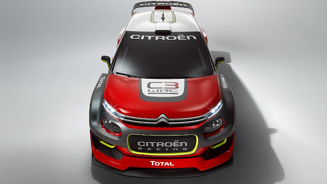 Citroen C3 WRC 2017 - Con actualizaciones que mejoran la aerodinámica
