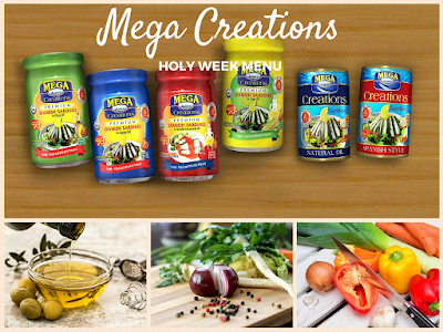 Mega Creations Holy Week Menu