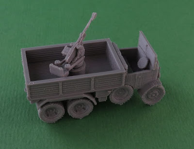 Breda 20mm AA on Truck picture 3