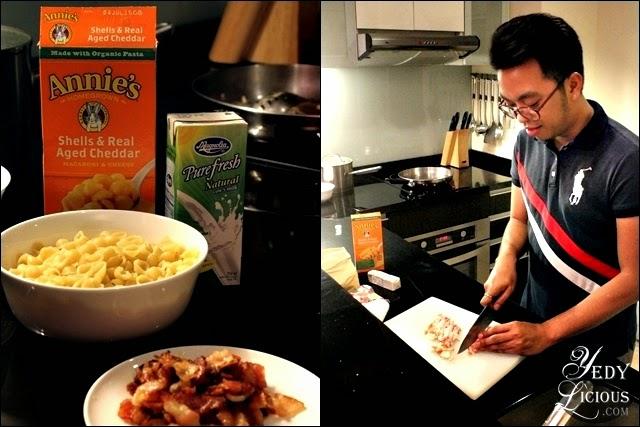 Cooking at Oakwood Manila / Glenn Dalisay