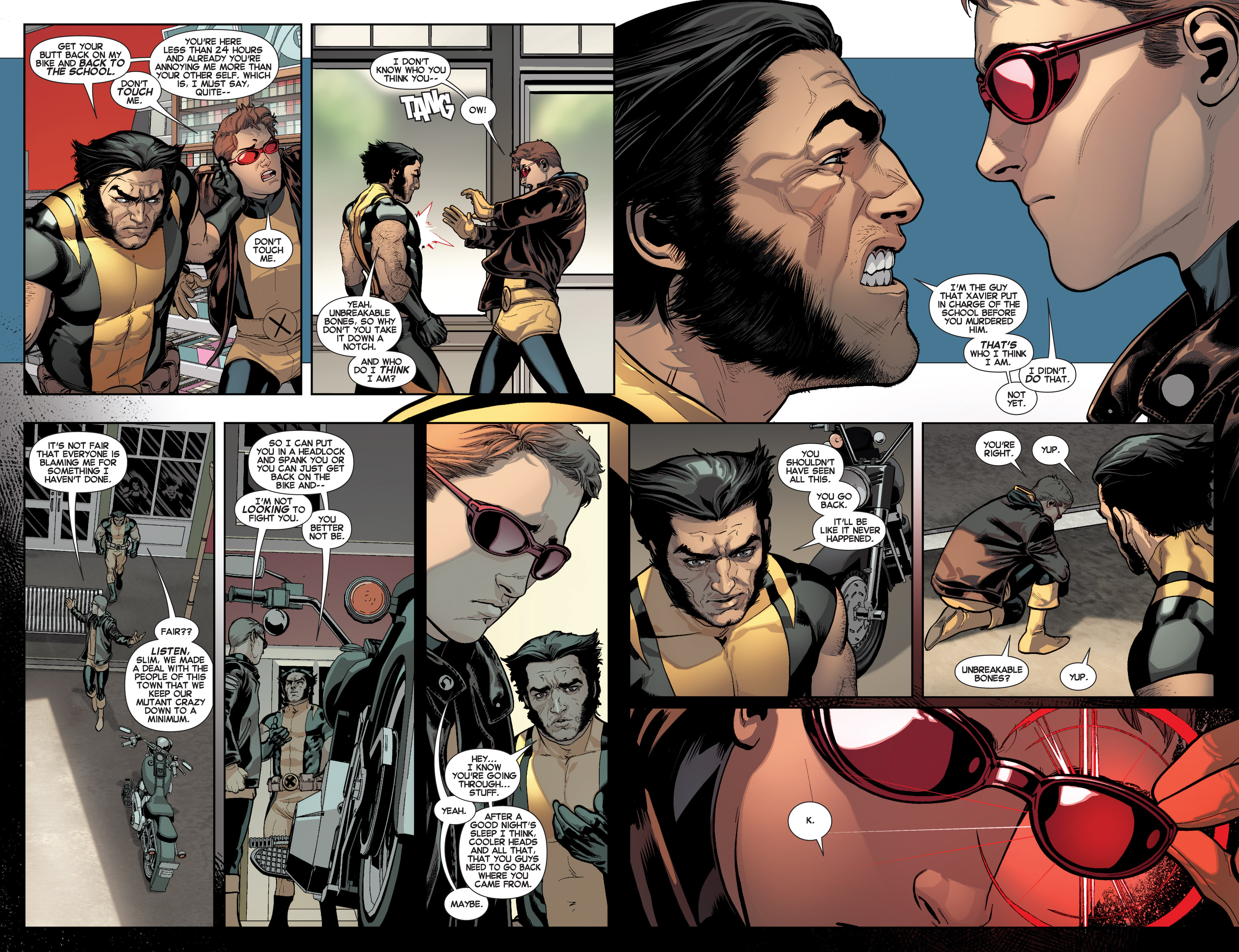 Read online All-New X-Men (2013) comic -  Issue # _Special - Here To Stay - 15
