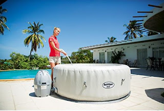 portable hot tub review
