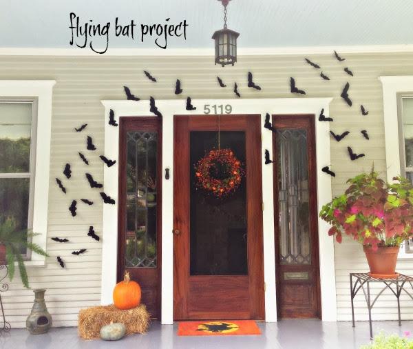 halloween bat project craft