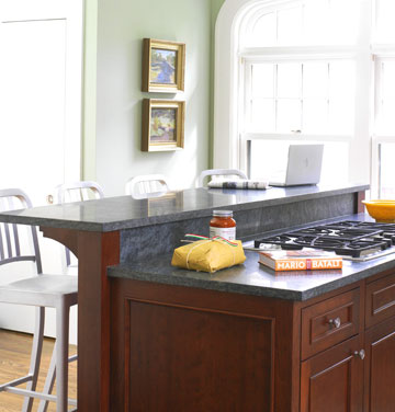 Multi Level Kitchen Islands With Seating
