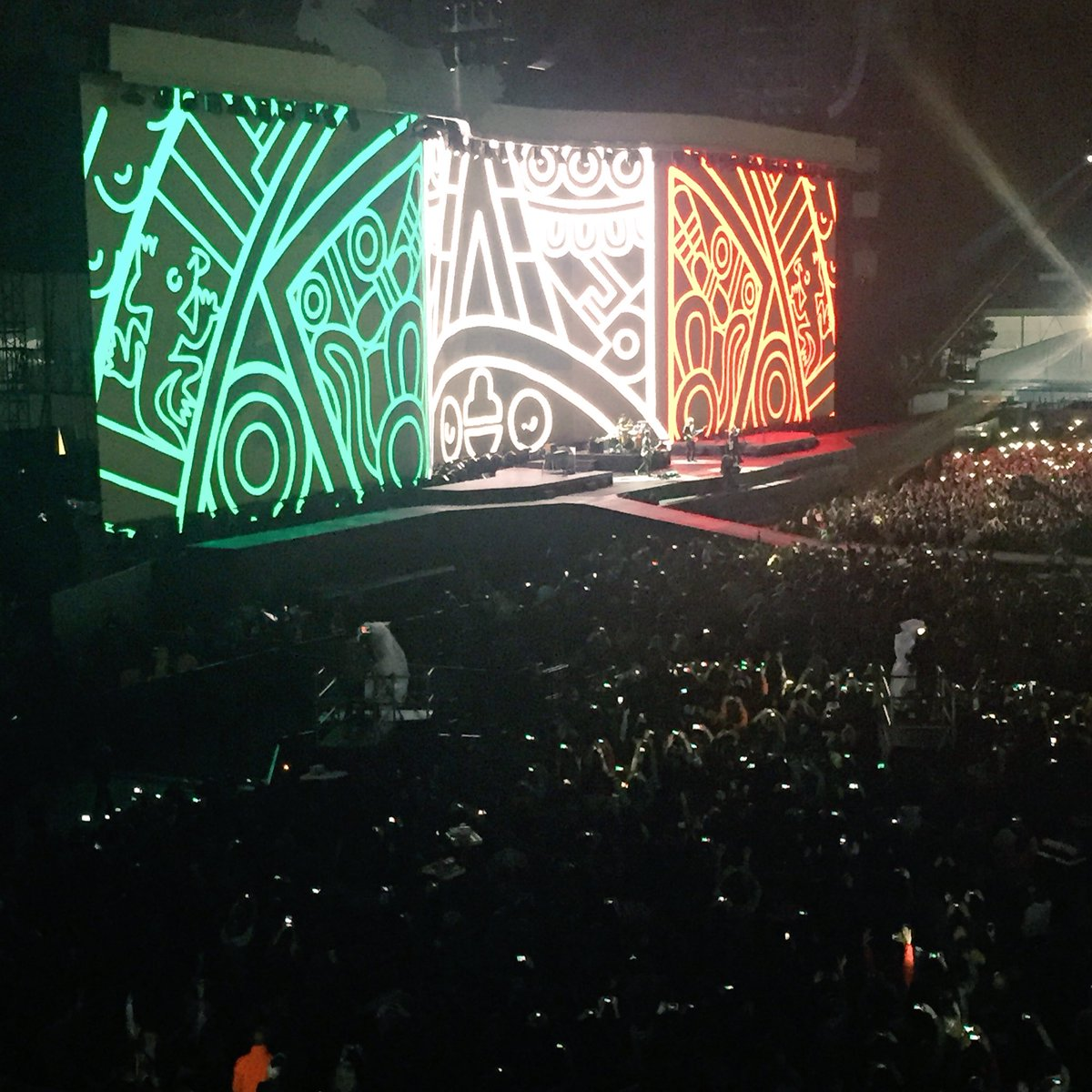 U2 spanish eyes video
