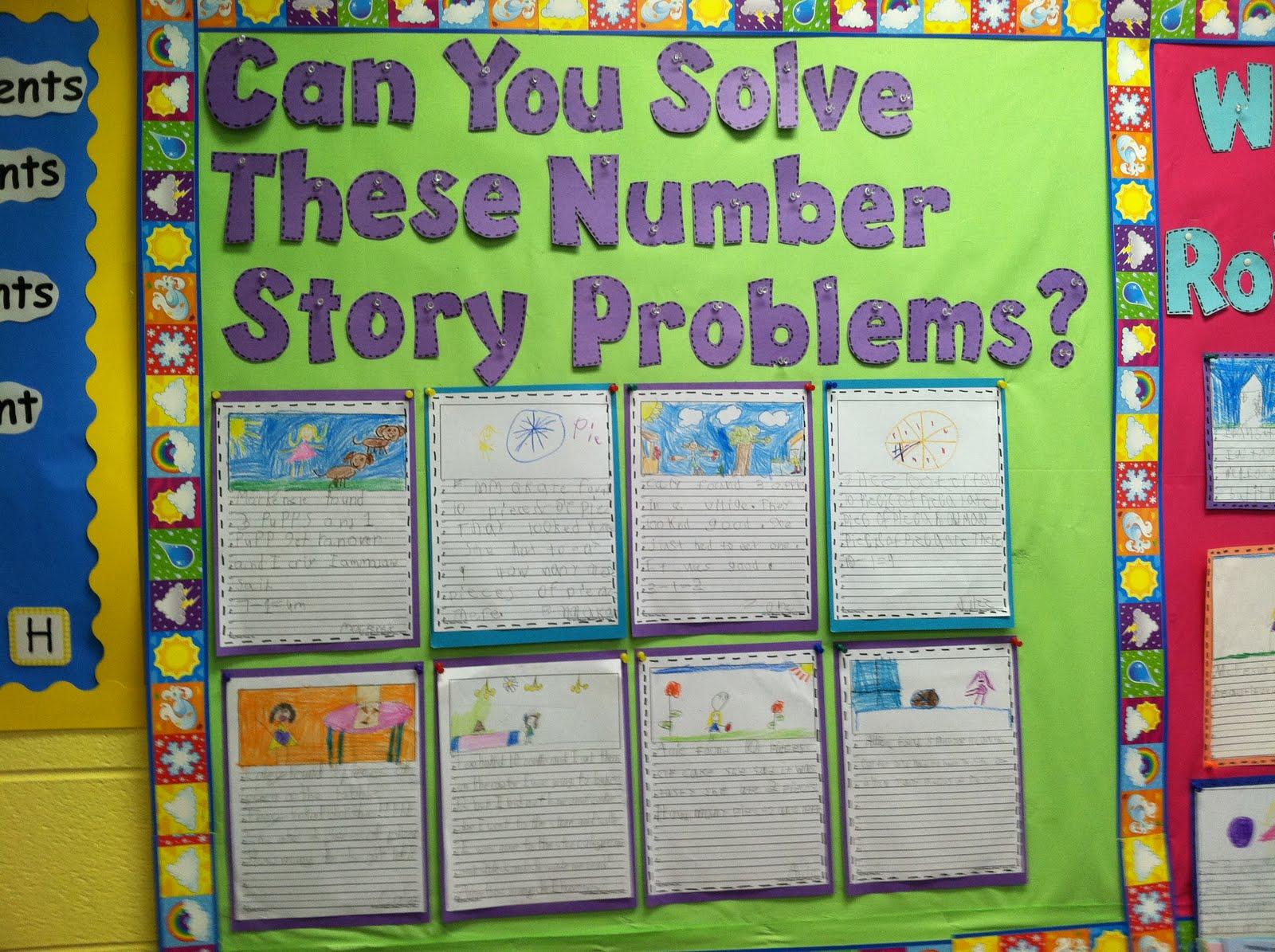 Famous 2nd Grade Bulletin Boards