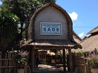 sasak village sade