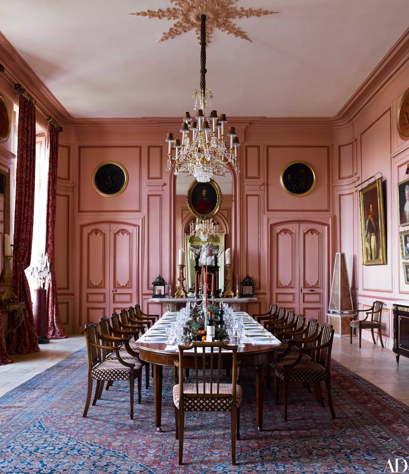 Designer Timothy Corrigan's 18th Century French Château Is