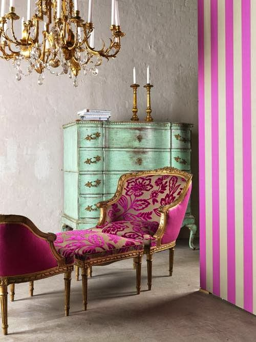 Pink And Green Rooms Are Usually For People That Like To Have Fun They Can Be Whimsical Energetic