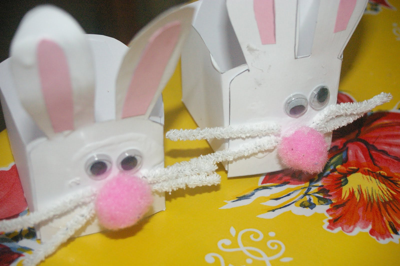Easy kindy teacher easter gifts bunny baskets domesblissity bs kindergarten is the best e went there before she started school and i cant talk highly enough about it it reminds me of the type of kindy i went to negle Choice Image