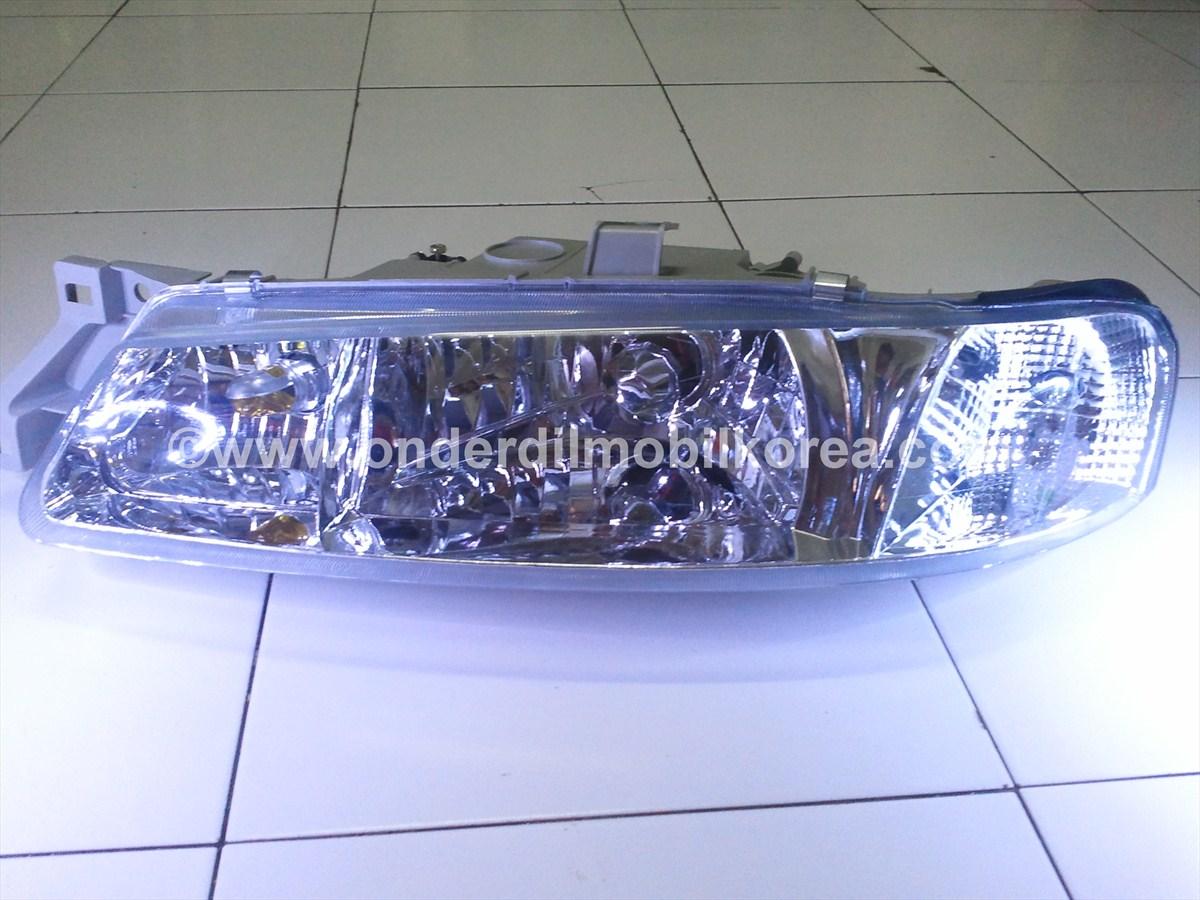 Head Lamp Timor Kristal Smoke Black Onderdil Mobil Korea