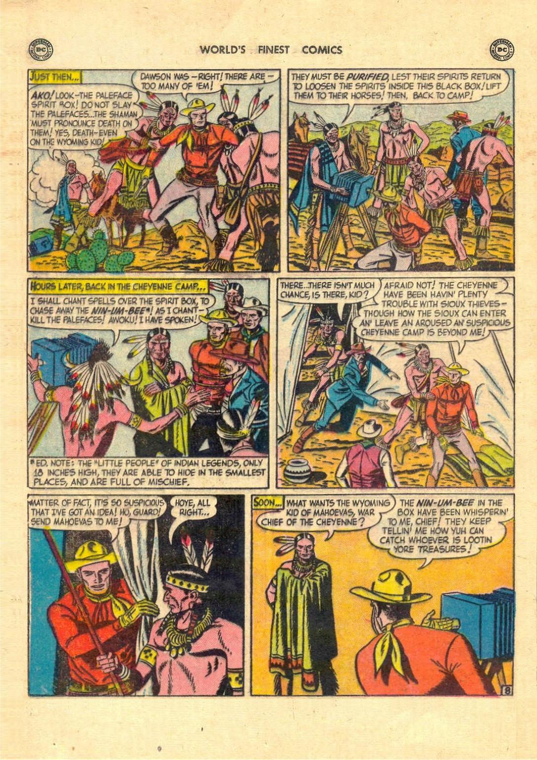 Read online World's Finest Comics comic -  Issue #52 - 22