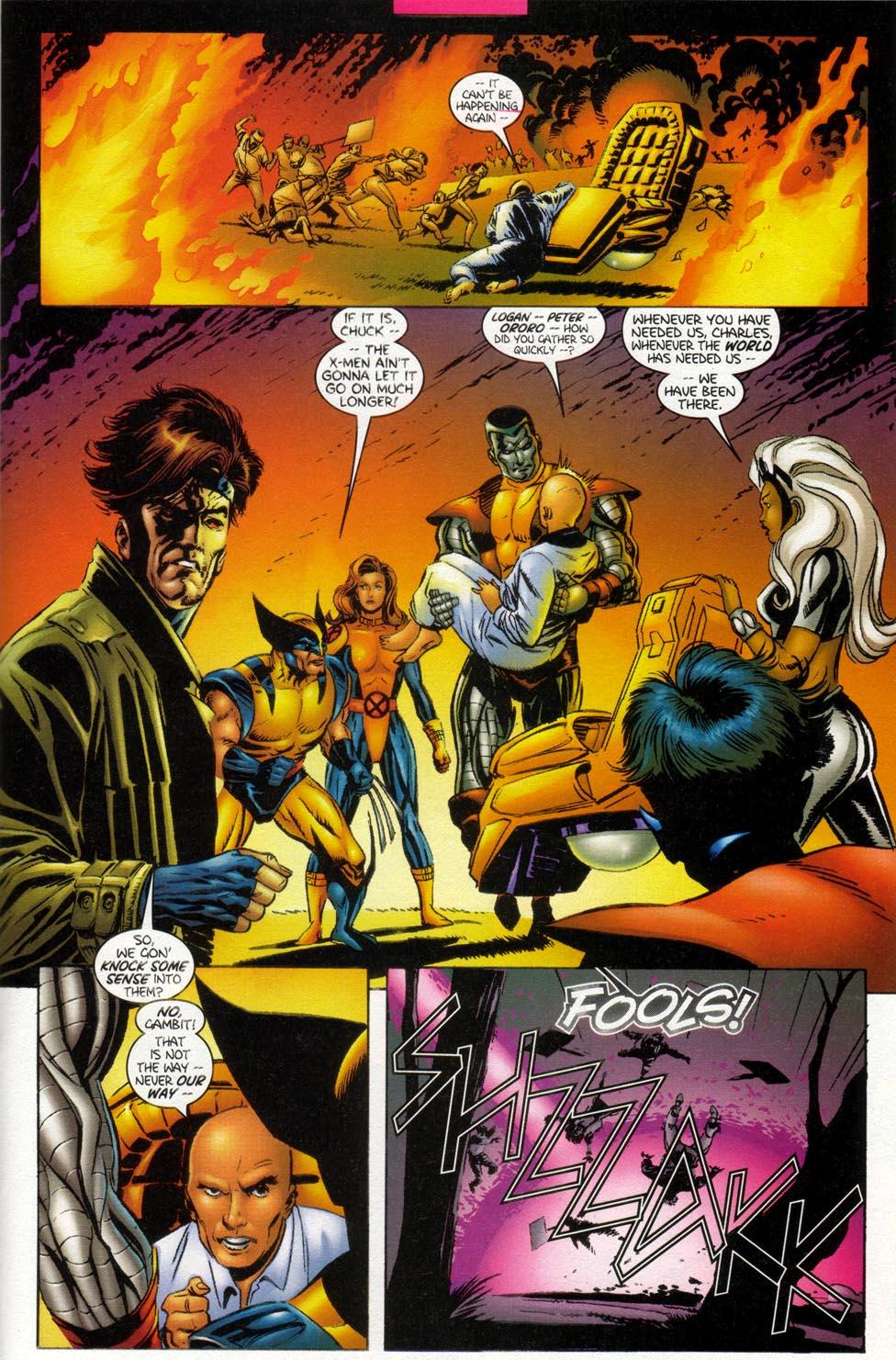 Read online X-Men: Magneto War comic -  Issue # Full - 5