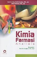 KIMIA FARMASI ANALISIS Pengarang : Prof. Dr. Ibnu Gholib Gandjar, DEA., Apt. Penerbit : Pustaka Pelajar