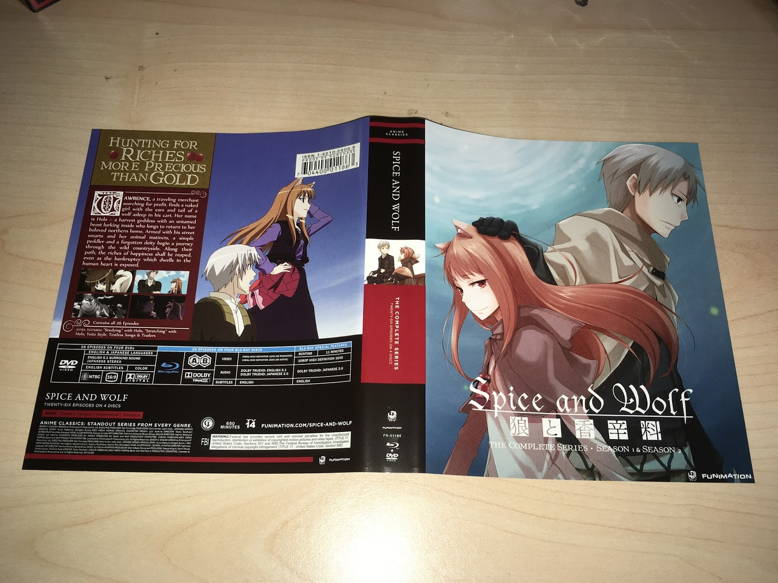Animal instincts dvd zavvi com - Spice Wolf Is Available As A Blu Ray Dvd Combo From Funimation