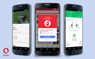Opera Cricket brings faster access to cricket scores and alerts