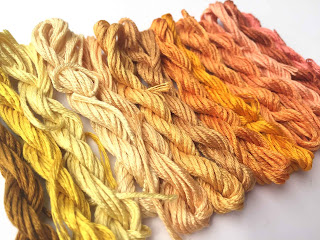 Silk thread will be on sale at the Oct 2017 Kreinik factory outlet store