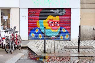 Sunday Street Art : Kashink - rue des Orteaux - Paris 20
