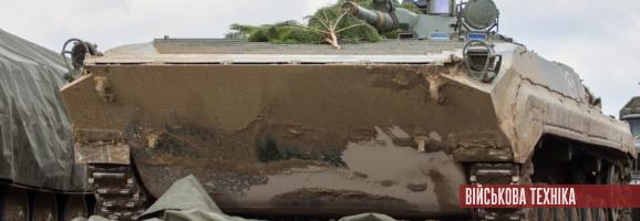 Українська армія отримала бойові машини піхоти БМП-1АК, що були закуплені у Польщі