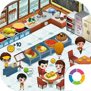 Cafeland world kitchen v1 1 1 mod apk dinheiro ilimitado for Kitchen queen mod apk