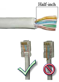 Crimping Rj45 How To