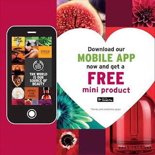 The Body Shop : Aplikasi UntukTelefon Bimbit