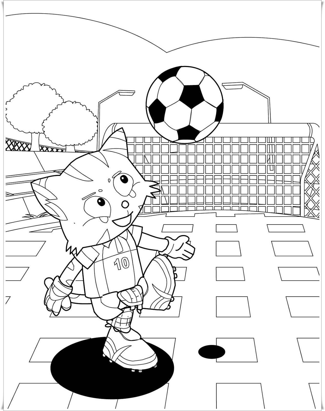 ausmalbilder zum ausdrucken ausmalbilder fußball