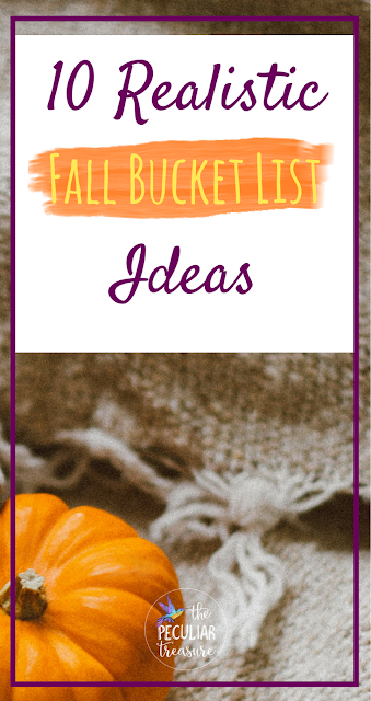 10 Realistic Fall Bucket List Ideas for the Whole Family!