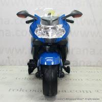 Motor Mainan Aki Pliko PK5100 BMW K1300S Lisensi-Blue