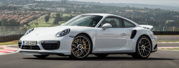 2017 Porsche 911 Turbo Design