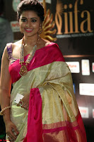 Sneha Looks Super cute in Red Silk Saree at IIFA Utsavam Awards 021.JPG