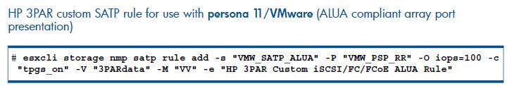 VMware 3PAR Best Practices Guide for InForm OS 3 1 2 - Derek